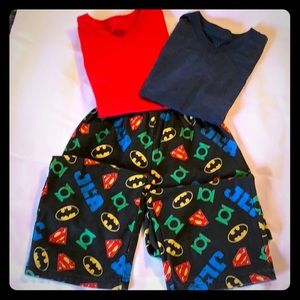 Other - 3 pieces! Two T's and PJ bottoms. All size XS